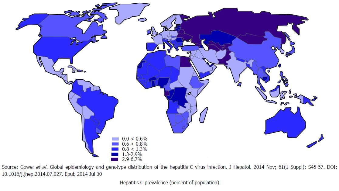 Update on global epidemiology of viral hepatitis and