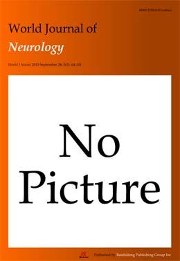 World Journal of Neurology - Baishideng Publishing Group