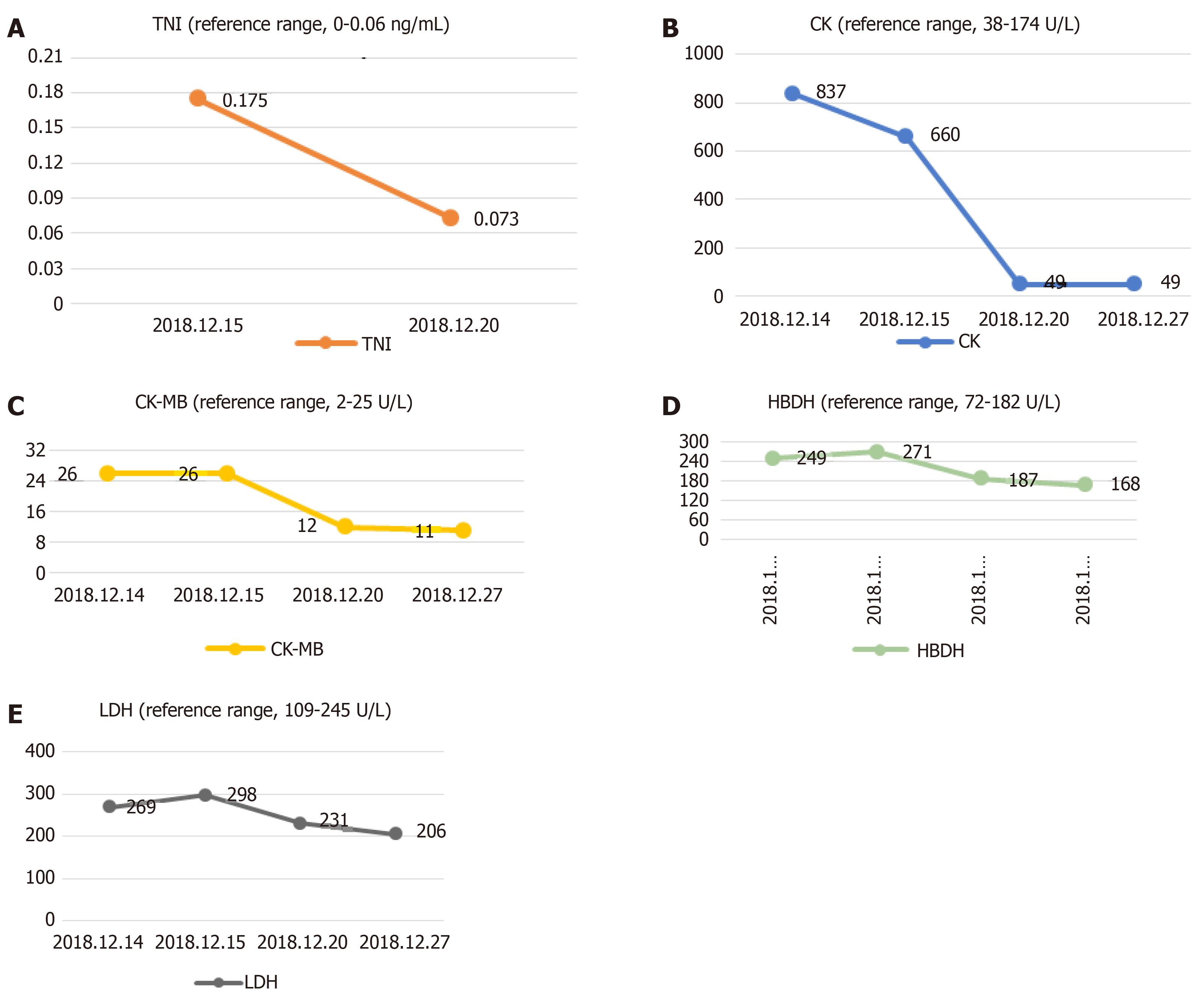 Myocardial Ischemic Changes Of Electrocardiogram In