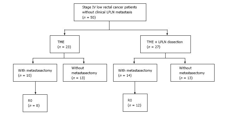 Prophylactic Lateral Pelvic Lymph Node Dissection In Stage Iv Low Rectal Cancer