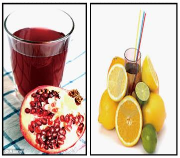 Role Of Pomegranate And Citrus Fruit Juices In Colon Cancer Prevention